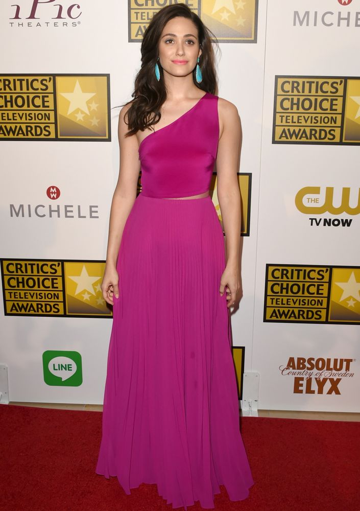 Emmy Rossum at the 2014 Critics' Choice Television Awards