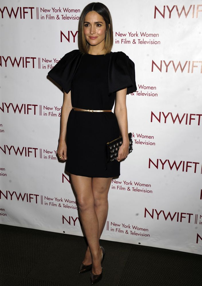 Rose Byrne at the 2014 New York Women in Film & Television Designing Women Awards Gala