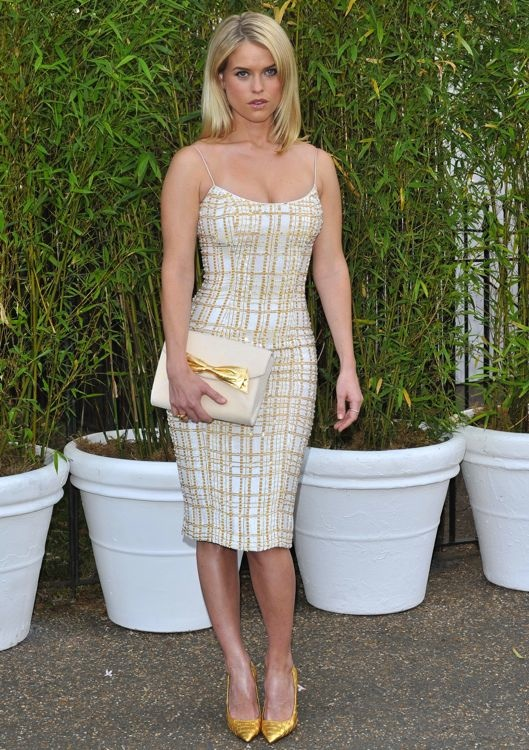 Alice Eve at the Serpentine Gallery Summer Party