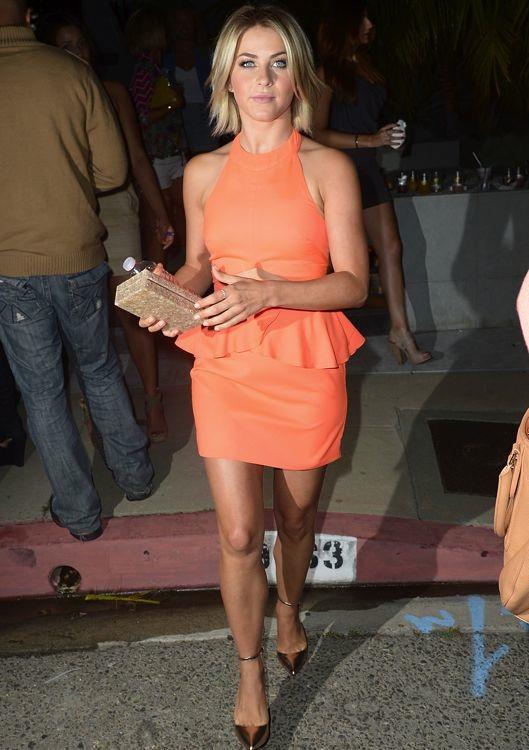 Julianne Hough at the Svedka Splash of Summer Party