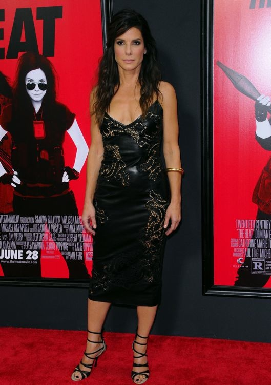 Sandra Bullock at the New York Premiere of The Heat