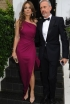 Elizabeth Hurley Heading to the 15th Annual White Tie and Tiara Ball