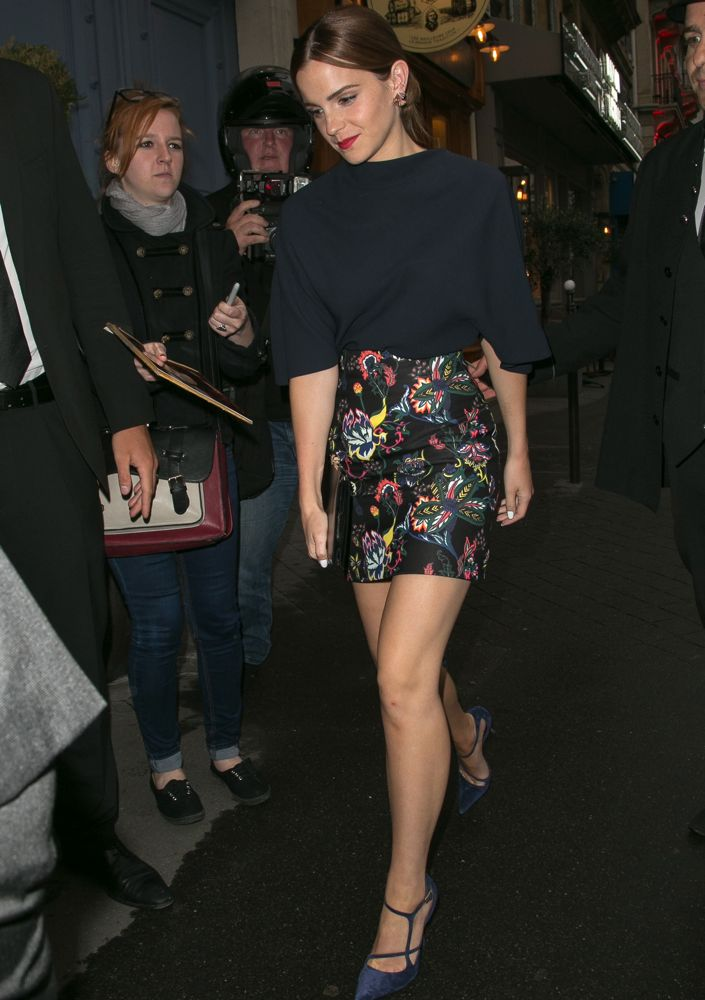 Emma Watson at the Christian Dior Private Party