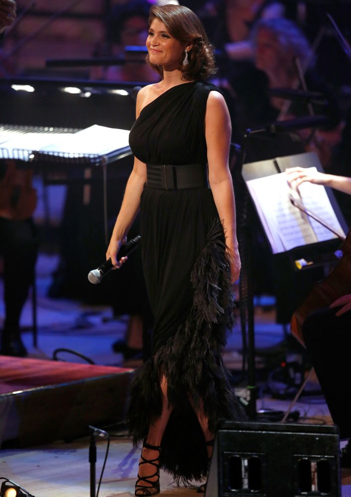 Gemma Arterton at Tim Rice – A Life In Song