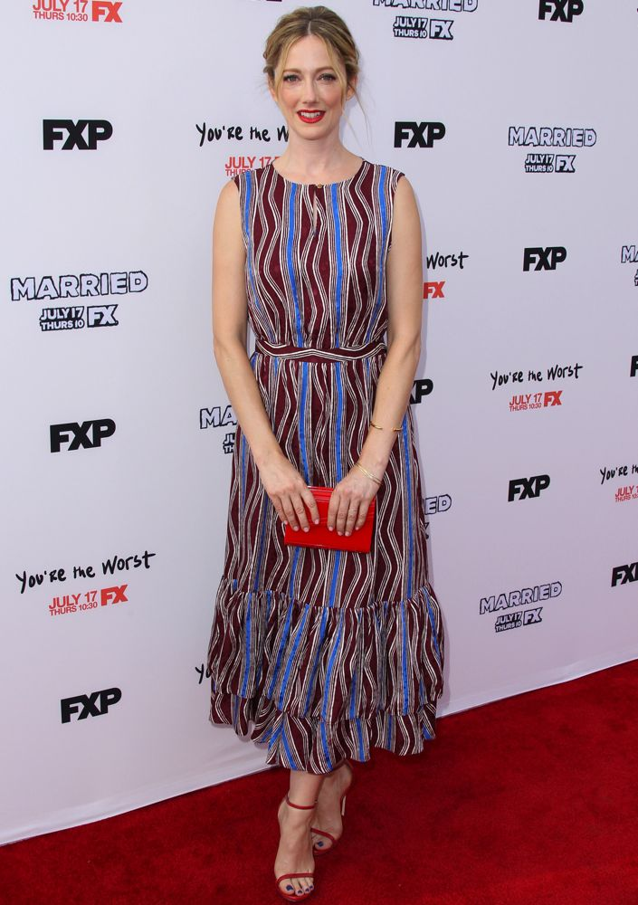 Judy Greer at the Los Angeles Screening of FX's Married