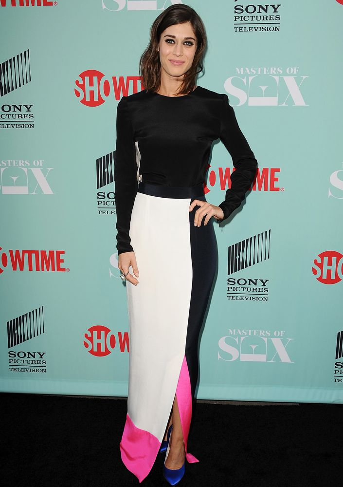 Lizzy Caplan at the Masters of Sex Season 2 2014 Summer TCA Press Tour Event