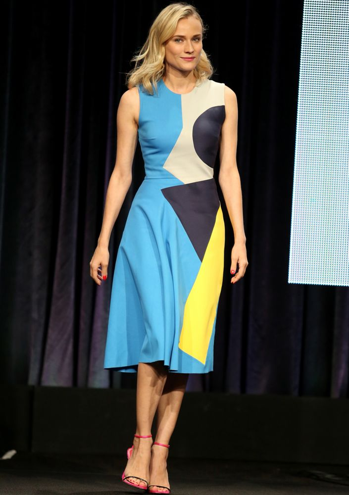 Diane Kruger at the 2014 Summer Television Critics Association Panel for The Bridge
