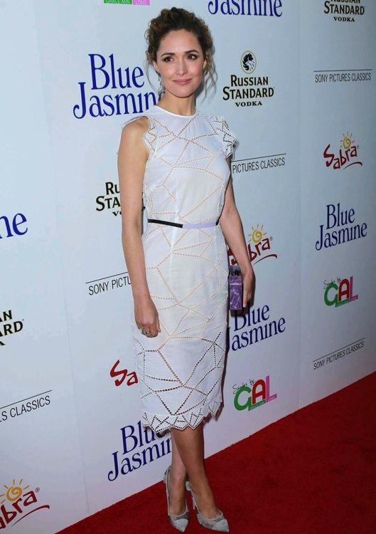 Rose Byrne at the Los Angeles Premiere of Blue Jasmine