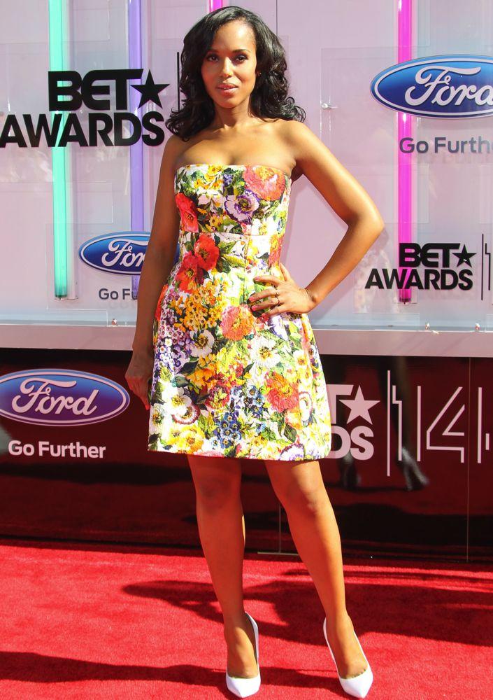 Kerry Washington at the 2014 BET Awards