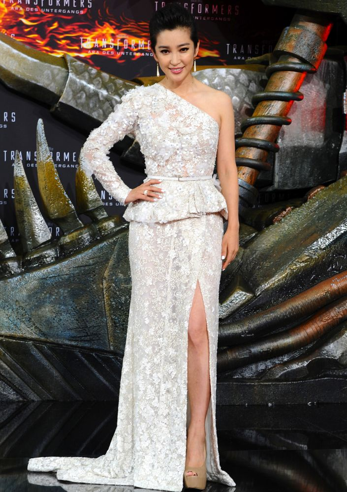 Li Bingbing at the Berlin Premiere of Transformers: Age of Extinction