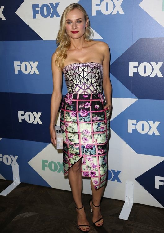 Diane Kruger at the 2013 Fox Summer TCA All-Star Party