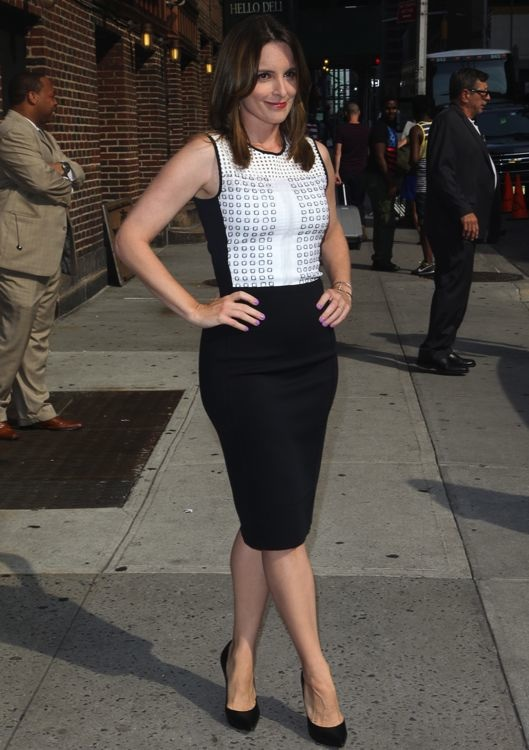 Tina Fey Appearing on the Late Show with David Letterman