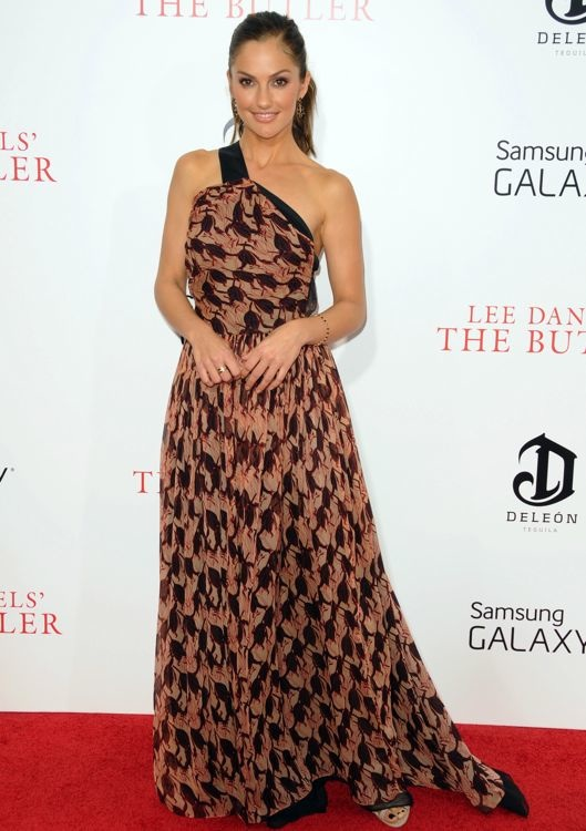 Minka Kelly at the New York Premiere of The Butler