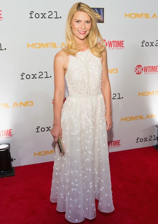 Claire Danes at the Premiere Screening for Season 3 of Homeland