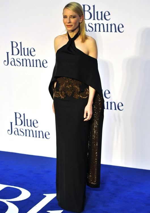 Cate Blanchett at the London Premiere of Blue Jasmine
