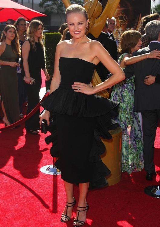 Malin Akerman at the 2013 Creative Arts Emmy Awards