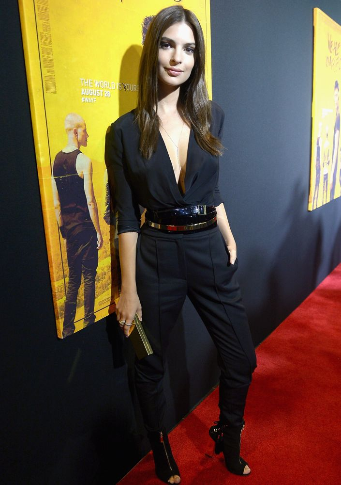 Emily Ratajkowski at a Miami Screening of We Are Your Friends