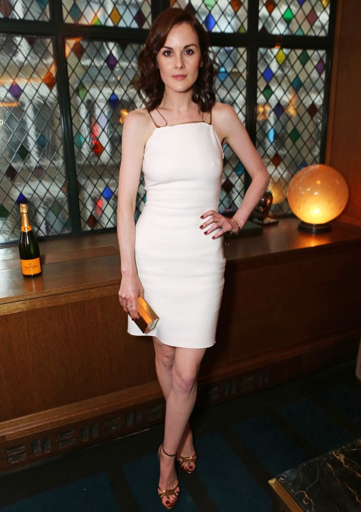 Michelle Dockery at the Downton Abbey London Wrap Party