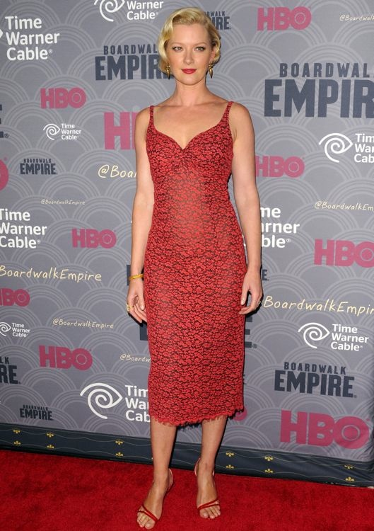 Gretchen Mol at the Boardwalk Empire Season Four Premiere
