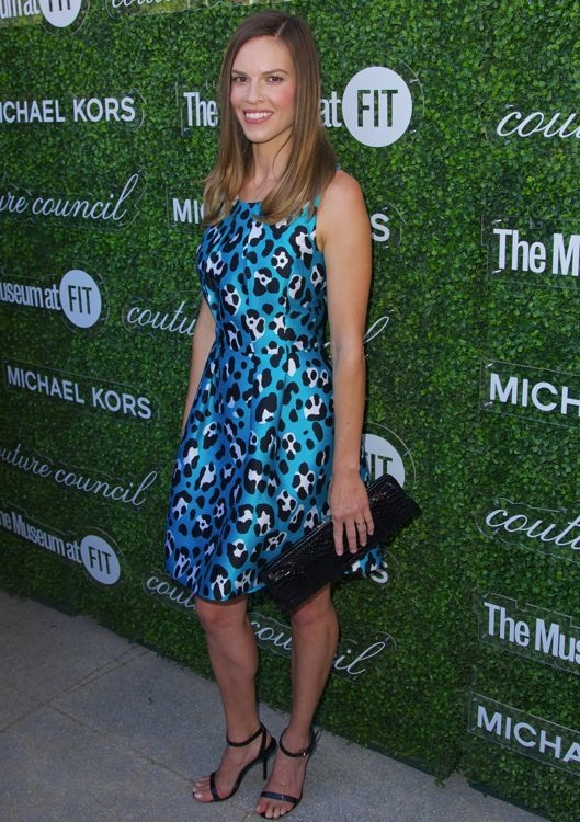 Hilary Swank at the 2013 Couture Council Artistry of Fashion Award Luncheon