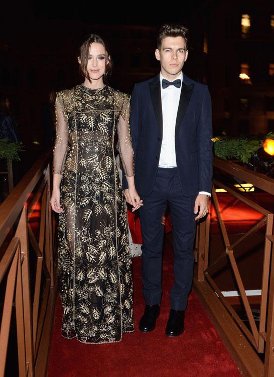 Keira Knightley at the Valentino Ball