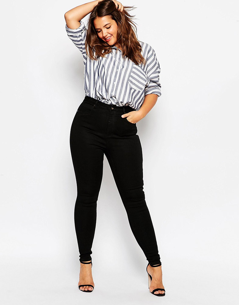 Extrêmement Best High-Waisted Jeans for Every Body Type - theFashionSpot VF43