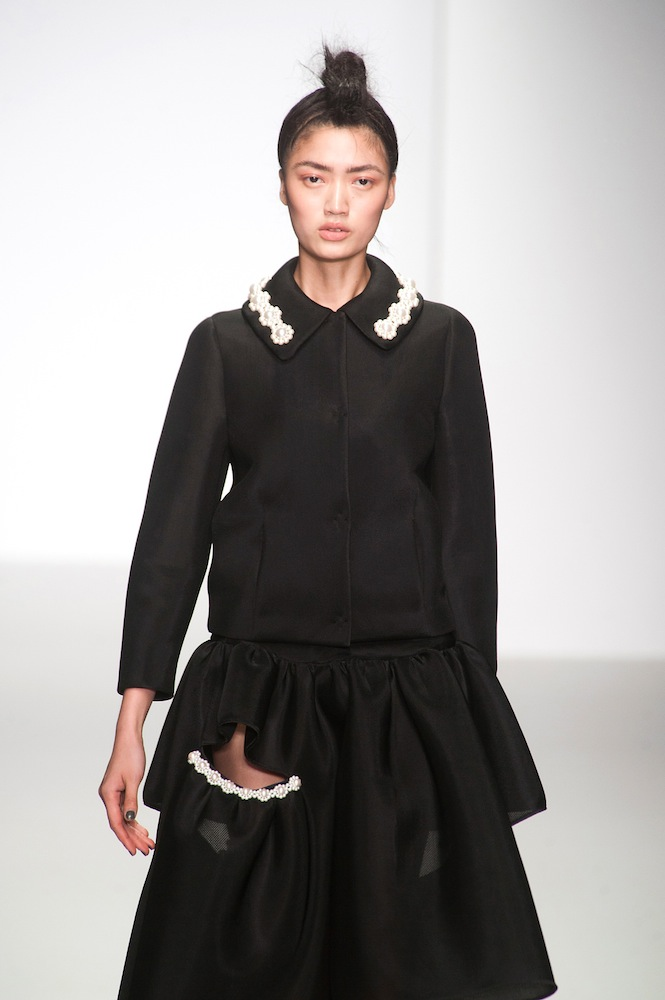 Jeweled Collars at Simone Rocha