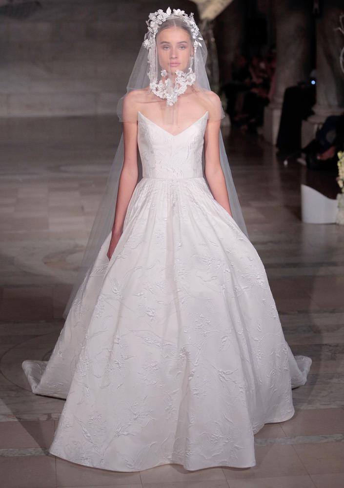 40 Best Wedding Dresses From Bridal Fashion Week Fall 2019 ...