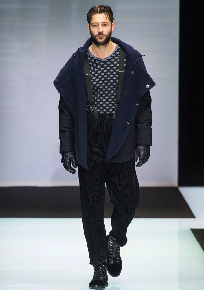 Giorgio Armani Men's Fall 2016