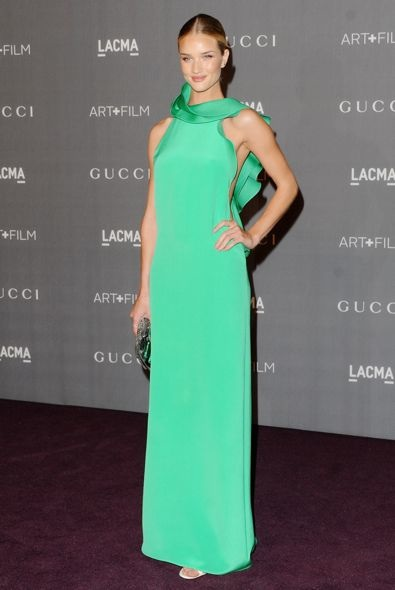 Rosie Huntington-Whiteley at the LACMA 2012 Art + Film Gala