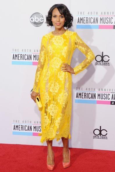 Kerry Washington at the 2012 American Music Awards