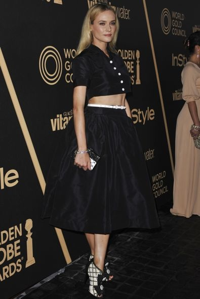 Diane Kruger at the 2013 Golden Globe Awards Season Celebration