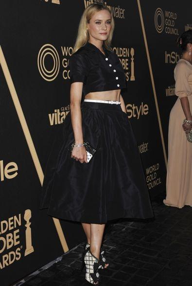 Diane Kruger at the 2013 Golden Globe Awards Season Celebration