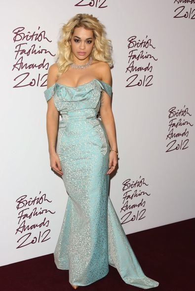 Rita Ora at the 2012 British Fashion Awards