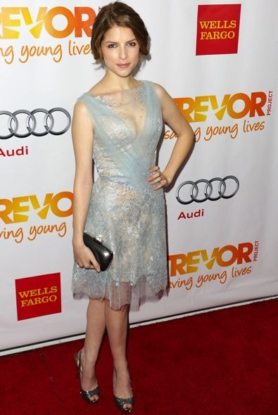 Anna Kendrick at The Trevor Project