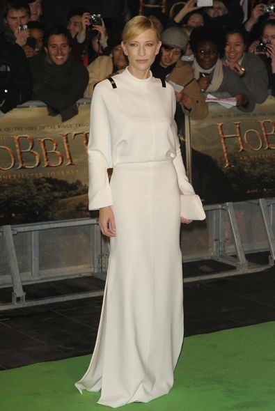 Cate Blanchett at the London Premiere of The Hobbit: An Unexpected Journey