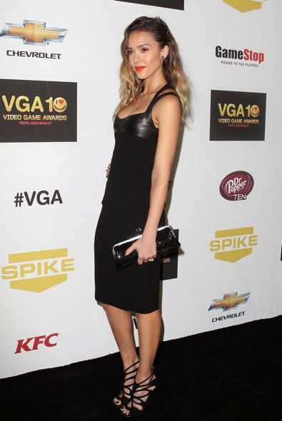 Jessica Alba at Spike TV's 10th Annual Video Game Awards