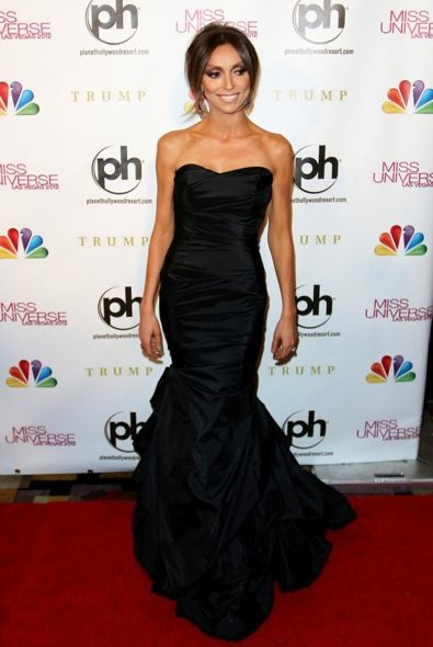 Giuliana Rancic at the 2012 Miss Universe Pageant