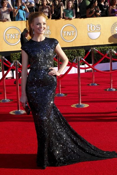 Jayma Mays at the 18th Annual Screen Actors Guild Awards