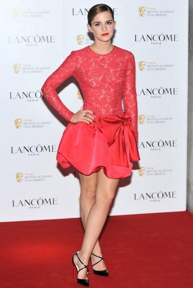 Emma Watson at the Lanc