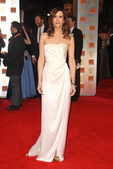 Kristen Wiig at the 2012 Orange British Academy Film Awards