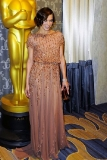 Milla Jovovich at the Academy of Motion Picture Arts and Sciences