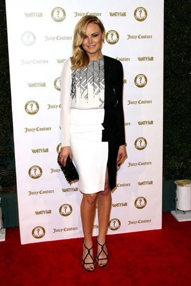 Malin Akerman at the Vanity Fair and Juicy Couture Vanities 20th Anniversary Party