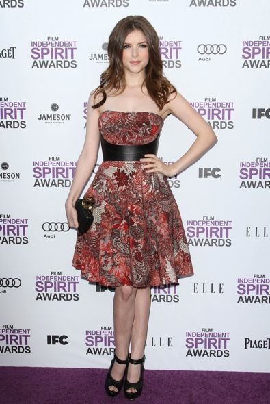 Anna Kendrick at the 2012 Film Independent Spirit Awards