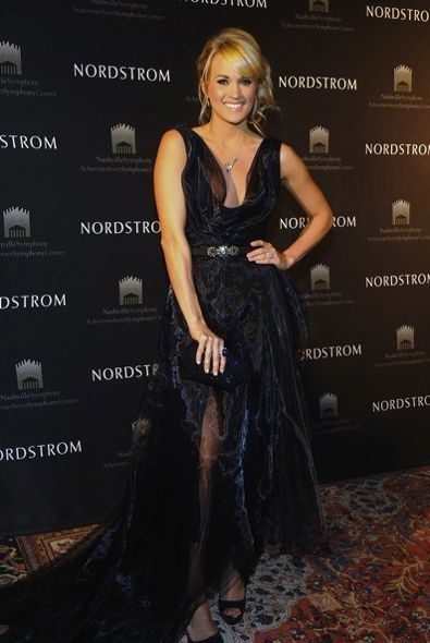 Carrie Underwood at the Nordstrom Symphony Fashion Show