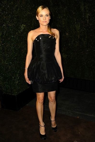Diane Kruger at the Chanel and Charles Finch Pre-Oscar Dinner