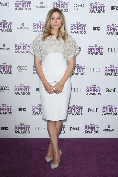 Elizabeth Olsen at the 2012 Film Independent Spirit Awards