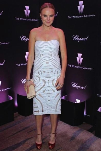 Malin Akerman at The Weinstein Company Celebrates the 2012 Academy Awards