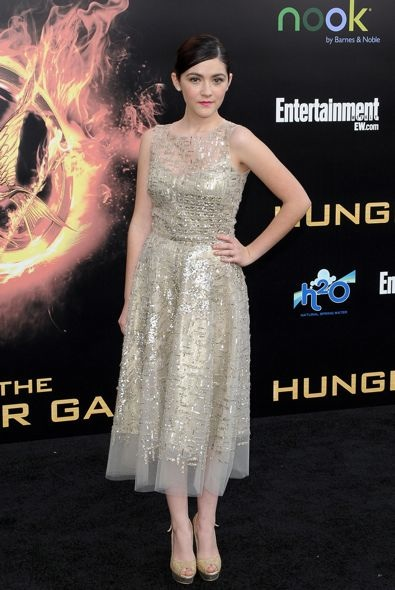 Isabelle Fuhrman at the World Premiere of The Hunger Games
