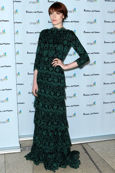 Florence Welch at MSN Presents the Florence + The Machine Las Vegas After Party